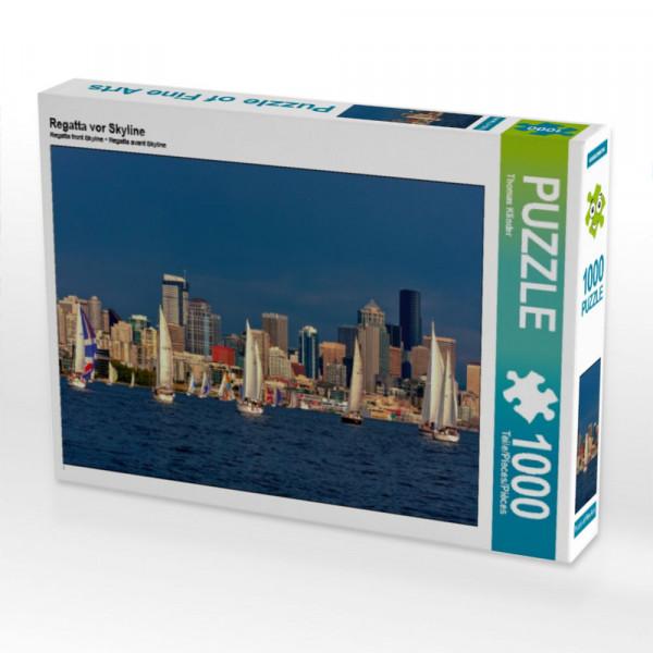 Puzzle Regatta vor Skyline