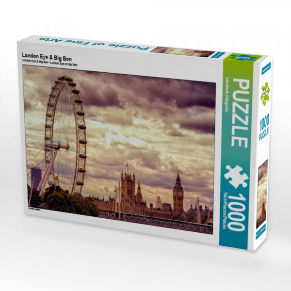 Puzzle London Eye & Big Ben