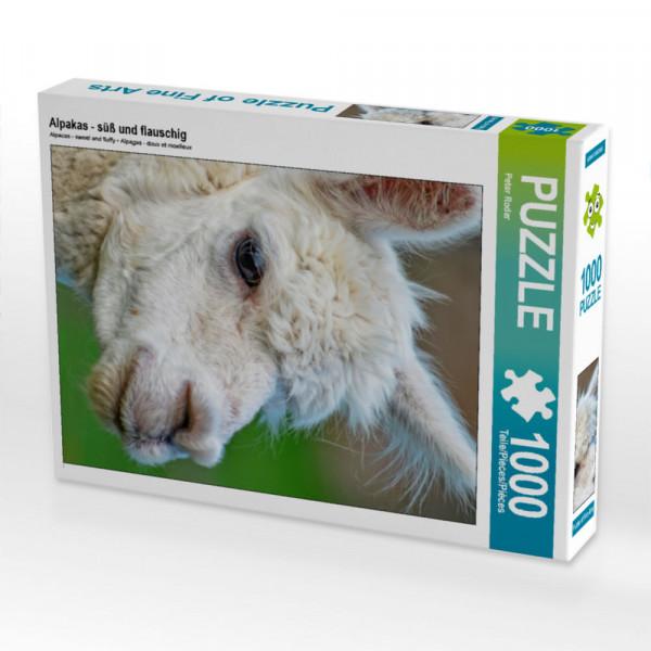 Puzzle Alpakas - süß und flauschig