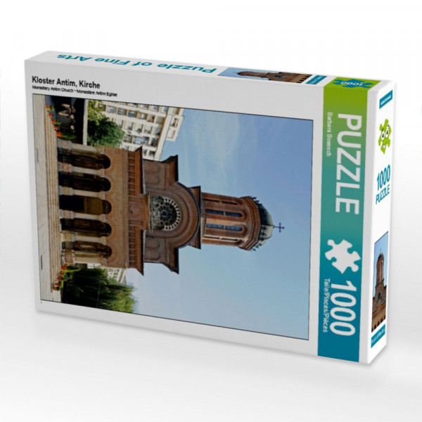 Puzzle Kloster Antim Kirche