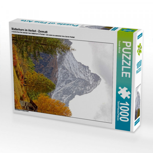 Puzzle Matterhorn im Herbst - Zermatt