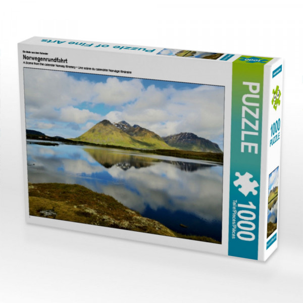 Puzzle Norwegenrundfahrt