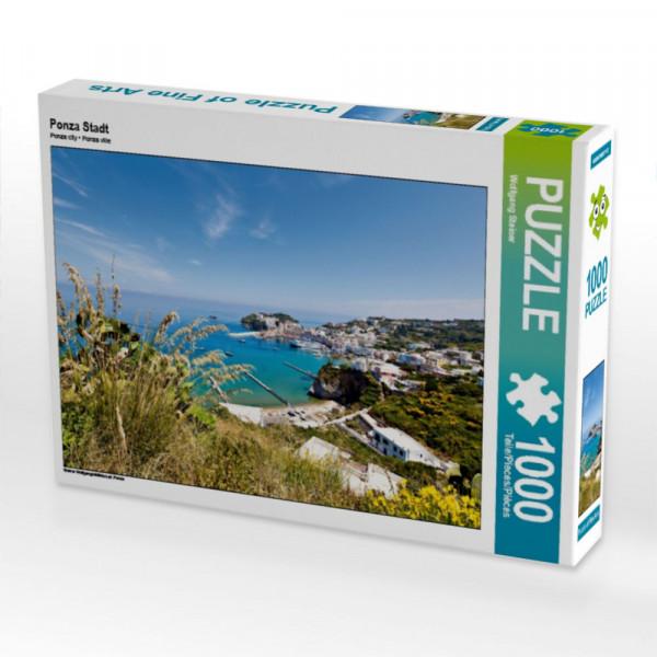 Puzzle Ponza Stadt