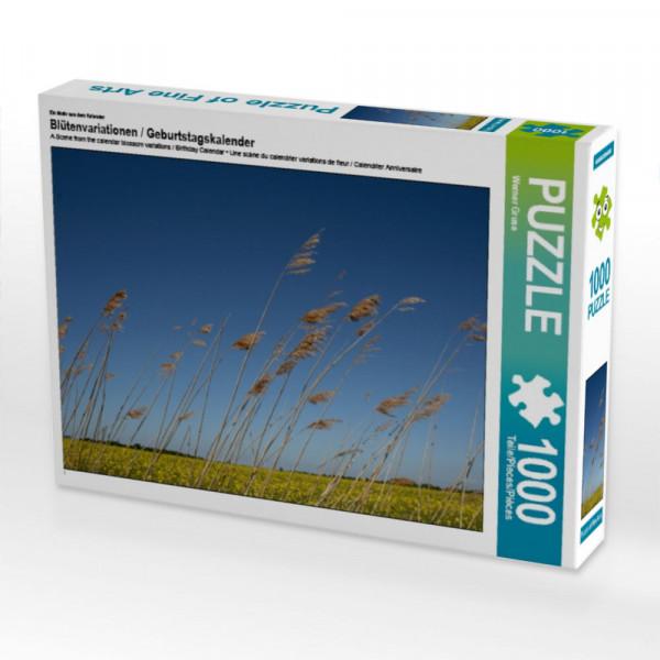 Puzzle Blütenvariationen / Geburtstagspuzzle