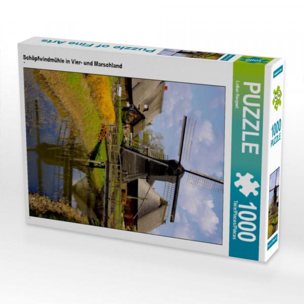 Puzzle Schöpfwindmühle in Vier- und Marschland