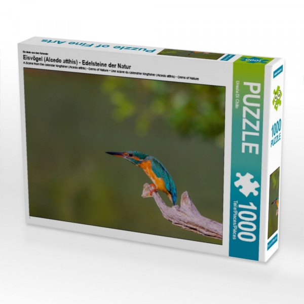 Puzzle Eisvögel Alcedo atthis - Edelsteine der Natur