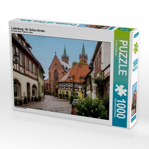 Puzzle Ladenburg - St. Gallus-Kirche