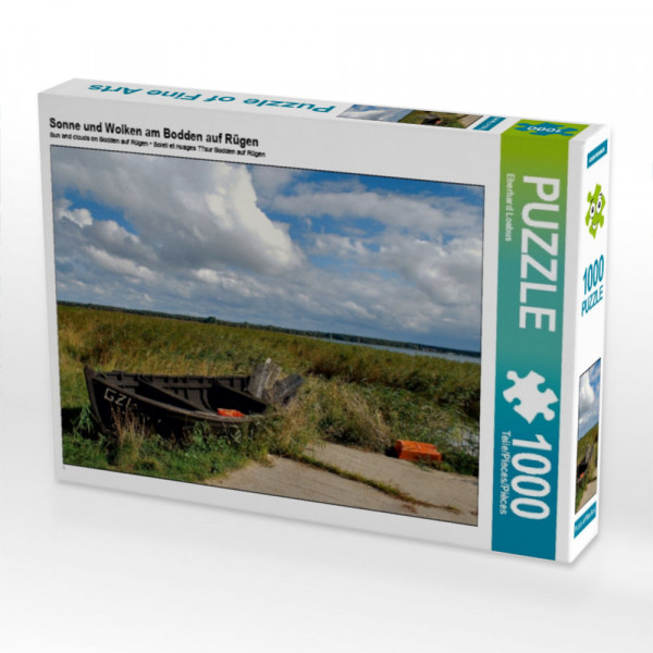 Puzzle Sonne und Wolken am Bodden auf Rügen