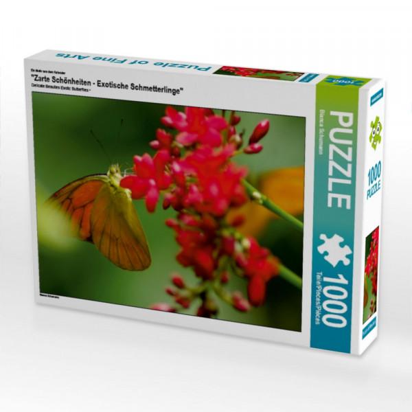 Puzzle Zarte Schönheiten - Exotische Schmetterlinge