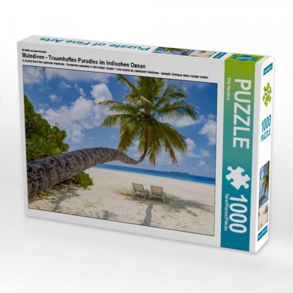 Puzzle Malediven - Traumhaftes Paradies im Indischen Ozean