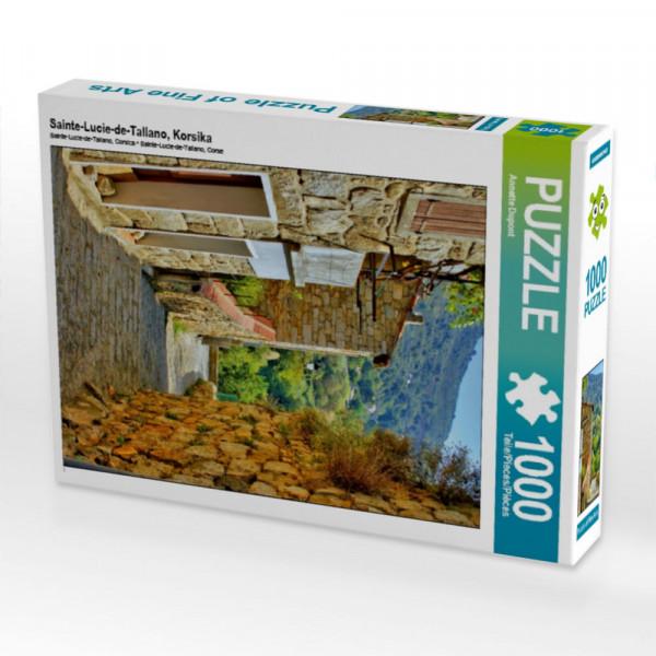 Puzzle Sainte-Lucie-de-Tallano Korsika