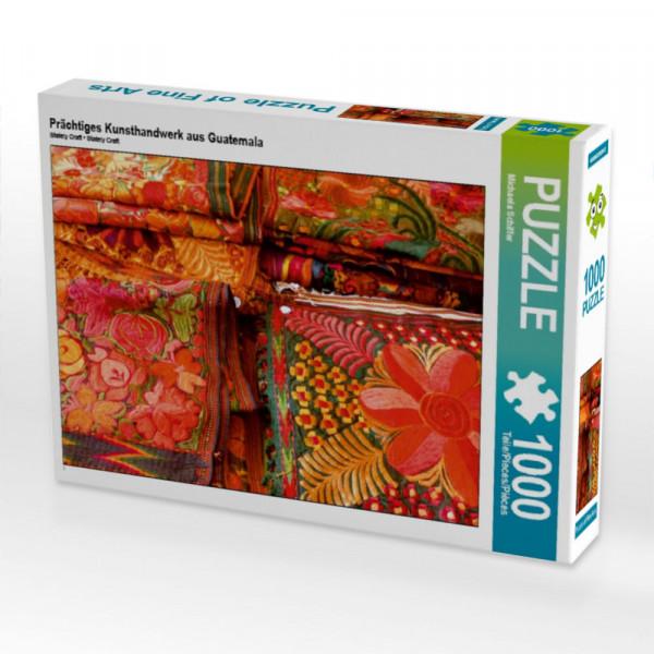 Puzzle Prächtiges Kunsthandwerk aus Guatemala
