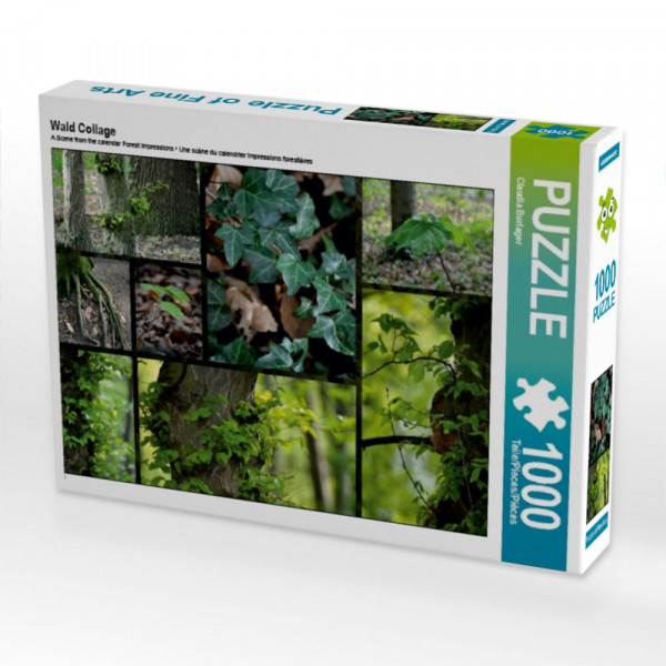 Puzzle Wald Collage