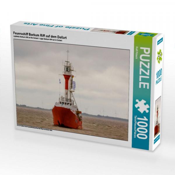 Puzzle Feuerschiff Borkum Riff auf dem Dollart