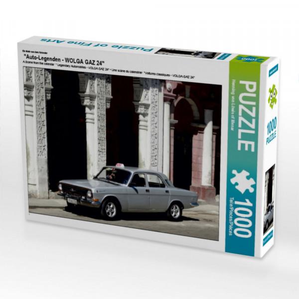 Puzzle Auto-Legenden - WOLGA GAZ 24