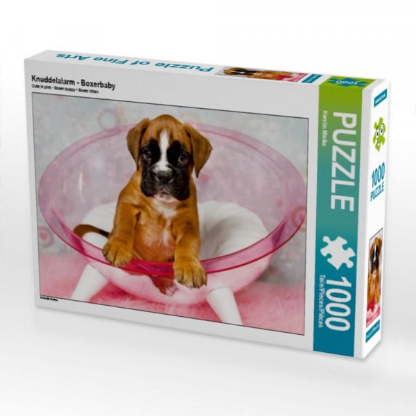 Puzzle Knuddelalarm - Boxerbaby