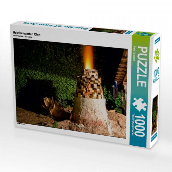Puzzle Holz befeuerten Ofen