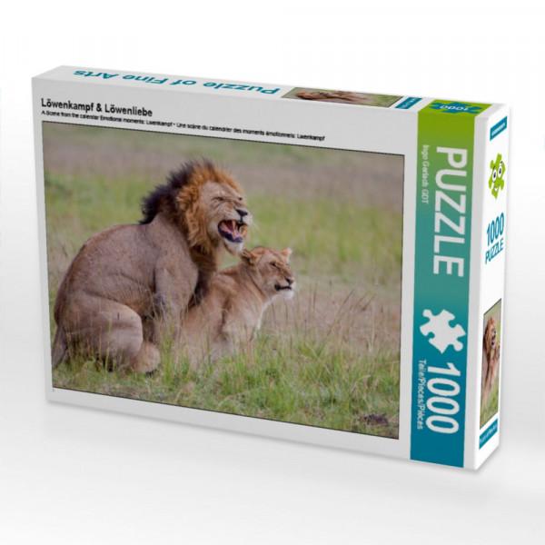 Puzzle Löwenkampf & Löwenliebe