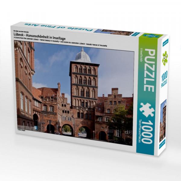 Puzzle Lübeck - Hanseschönheit in Insellage
