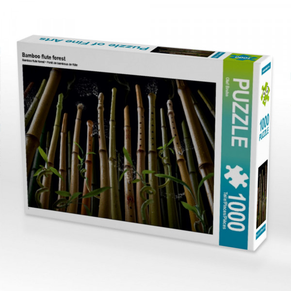 Puzzle Bamboo flute forest