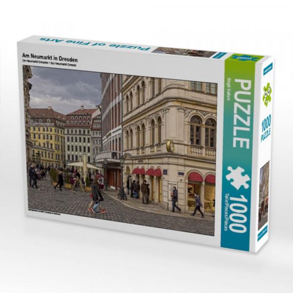 Puzzle Am Neumarkt in Dresden