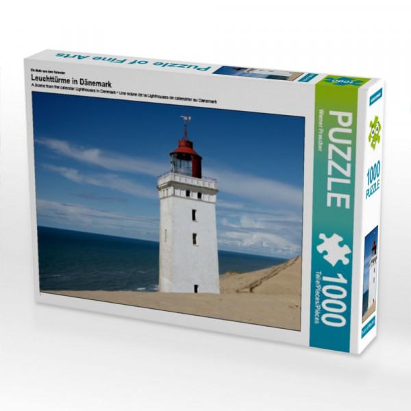 Puzzle Leuchttürme in Dänemark