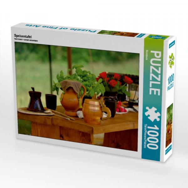 Puzzle Speisentafel