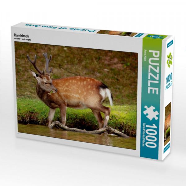 Puzzle Damhirsch