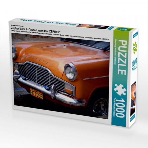 Puzzle Zephyr Mark II - Auto-Legenden: ZEPHYR
