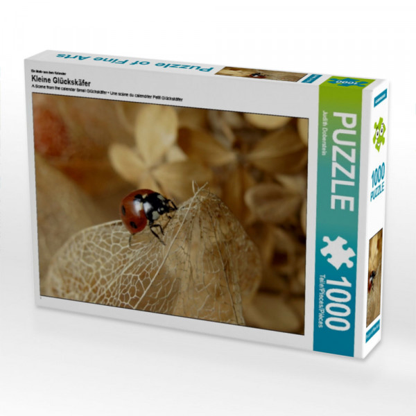 Puzzle Kleine Glückskäfer