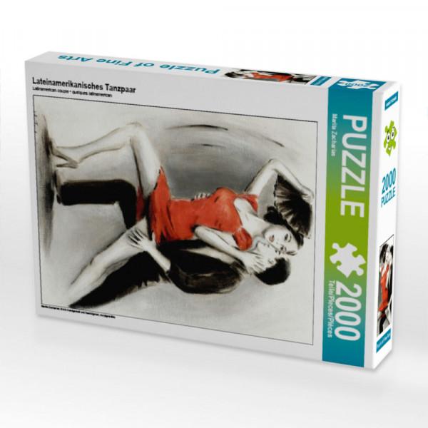Puzzle Bezauberndes lateinamerikanisches Tanzpaar Foto-Puzzle Bild von Zacharias Marita
