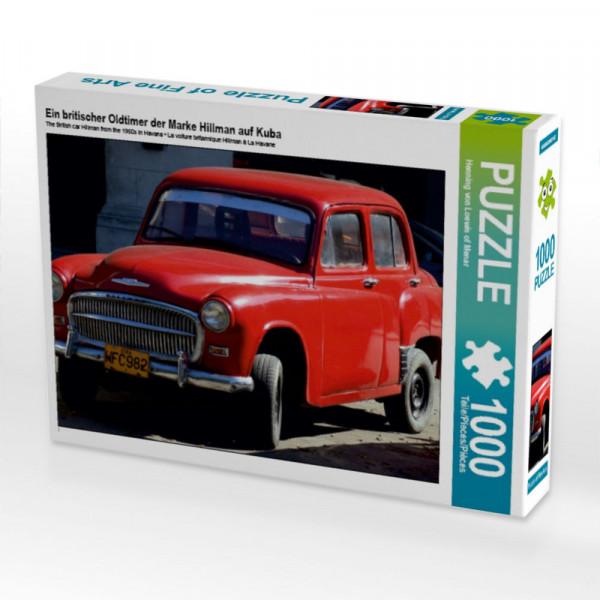 Puzzle Ein britischer Oldtimer der Marke Hillman auf Kuba