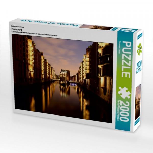 Puzzle Hamburg 2000 Teile Puzzle quer Motiv 1 Bild 1