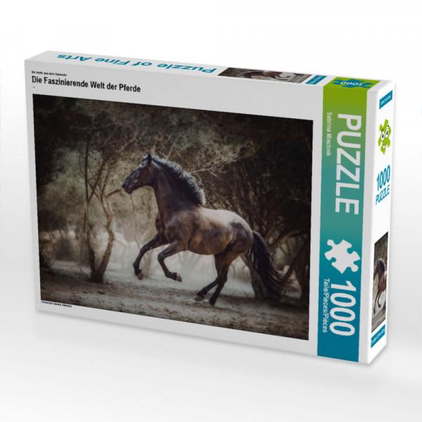 Puzzle Die Faszinierende Welt der Pferde