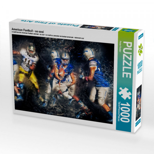 Puzzle American Football - so cool