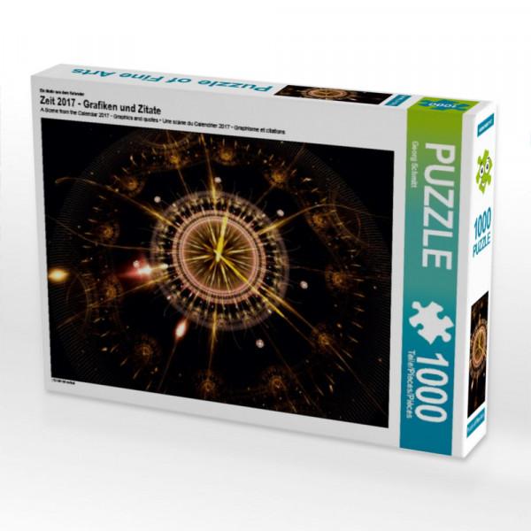 Puzzle Zeit 2017 - Grafiken und Zitate