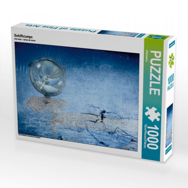 Puzzle Schiffslampe