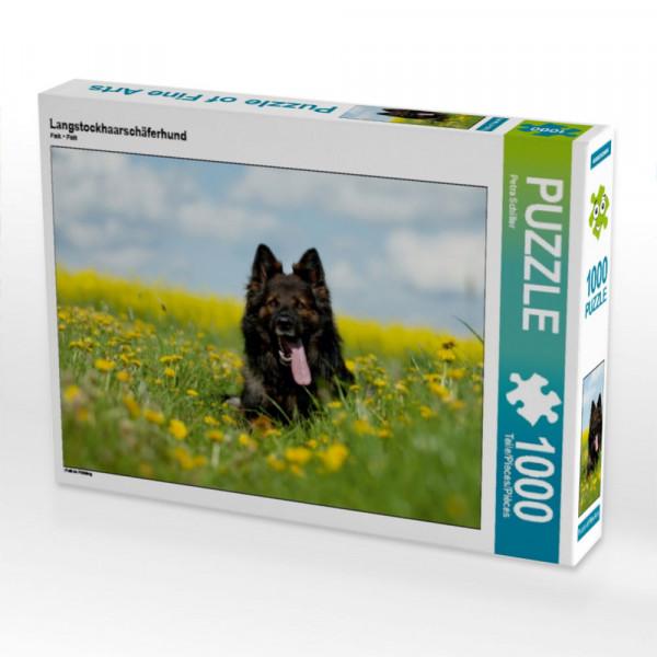 Puzzle Langstockhaarschäferhund