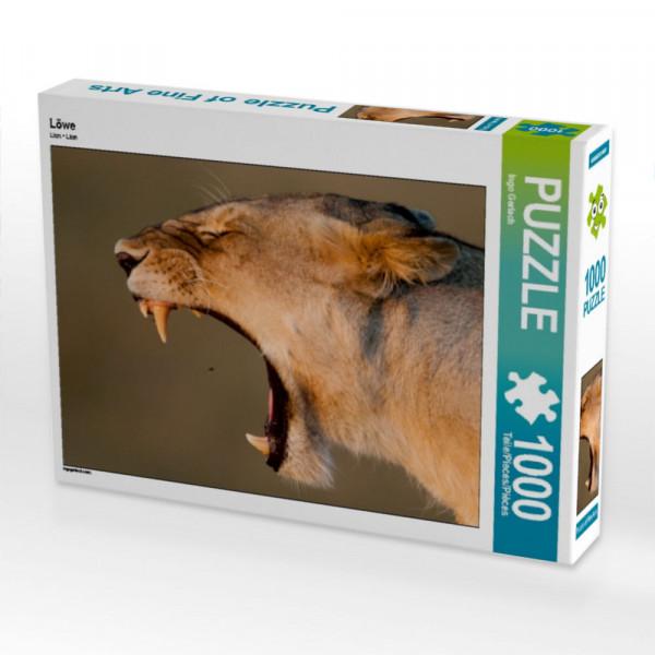 Puzzle Löwe