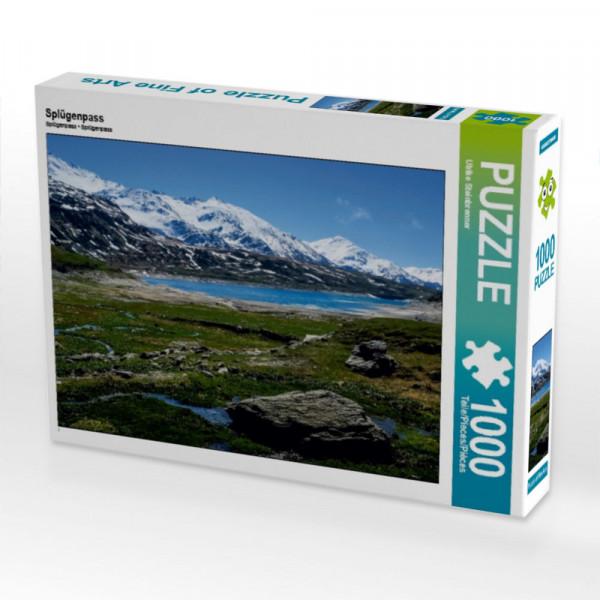 Puzzle Splügenpass Alpen