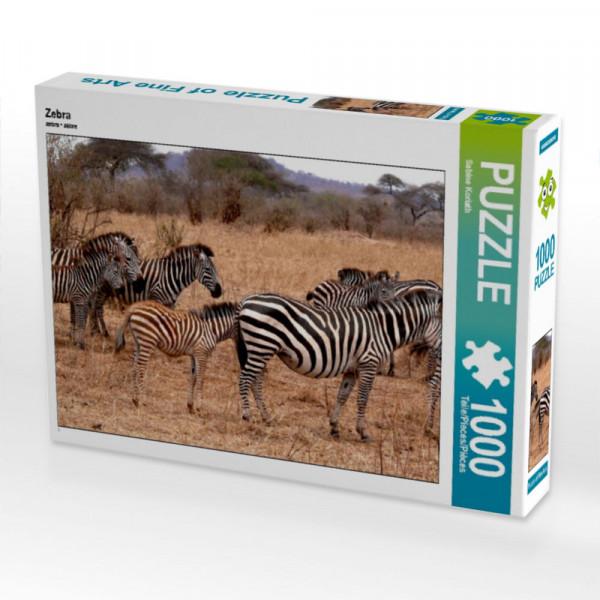 Puzzle Zebra