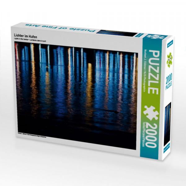 Puzzle Lichter im Hafen Foto-Puzzle Bild von J. Sülzner / NJS-Photographie