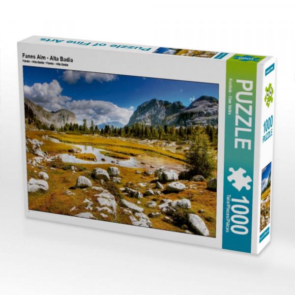 Puzzle Fanes Alm - Alta Badia