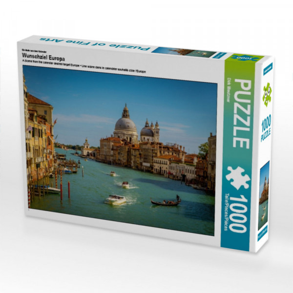 Puzzle Wunschziel Europa