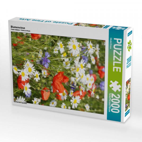 Puzzle Blumenwiese Foto-Puzzle Bild von Kruse Gisela