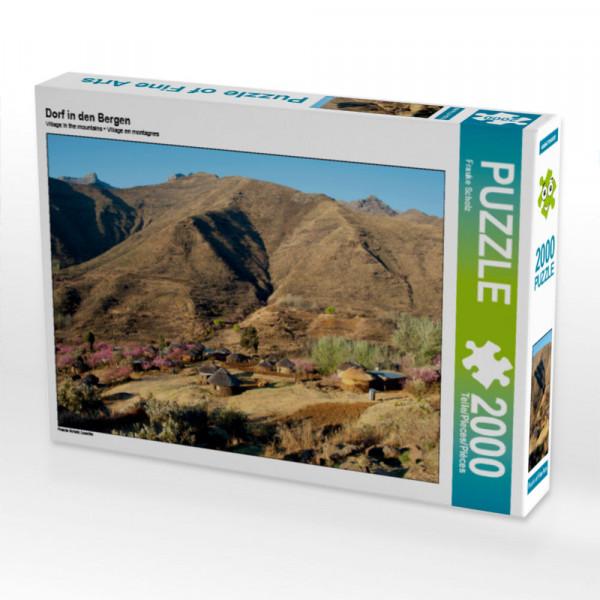 Puzzle Dorf in den Bergen Foto-Puzzle Bild von Scholz Frauke