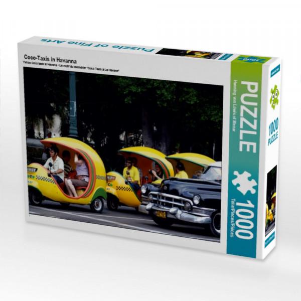 Puzzle Coco-Taxis in Havanna