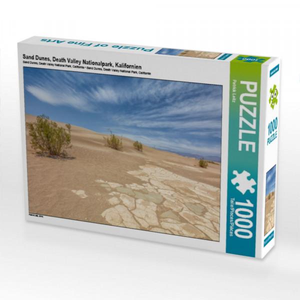 Puzzle Sand Dunes Death Valley Nationalpark Kalifornien
