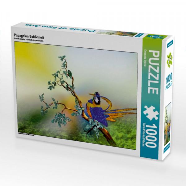 Puzzle Papageien Schönheit