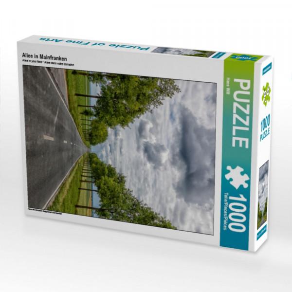 Puzzle Allee in Mainfranken